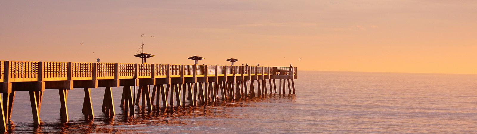 Jacksonville Beach and Pier